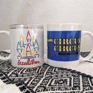 Other - For the Vintage Vegas Collector! Casino Mugs! 2x